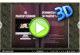 eBook with 360 degree effect