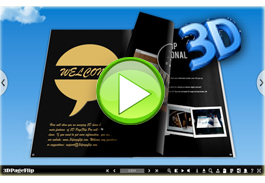 3D eBook Demo with 3D Vision
