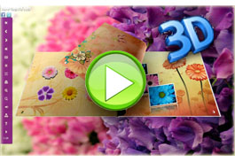 3D Flipbook - Flower Flip Photo Gallery