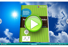 Focusky presentation maker in 3d flipbook
