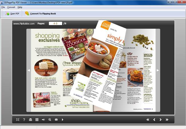 Free 3DPageFlip PDF Viewer - 3dpageflip com