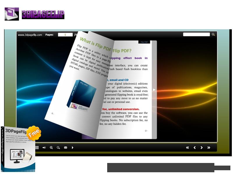 Windows 7 3DPageFlip Free Convert PDF to Flash 1.0 full