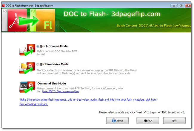 100% free doc to flash converter for easy use