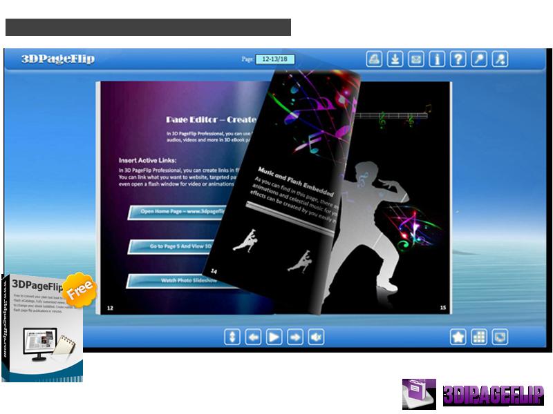 Windows 7 3DPageFlip Free Flash eBook Maker 1.0 full