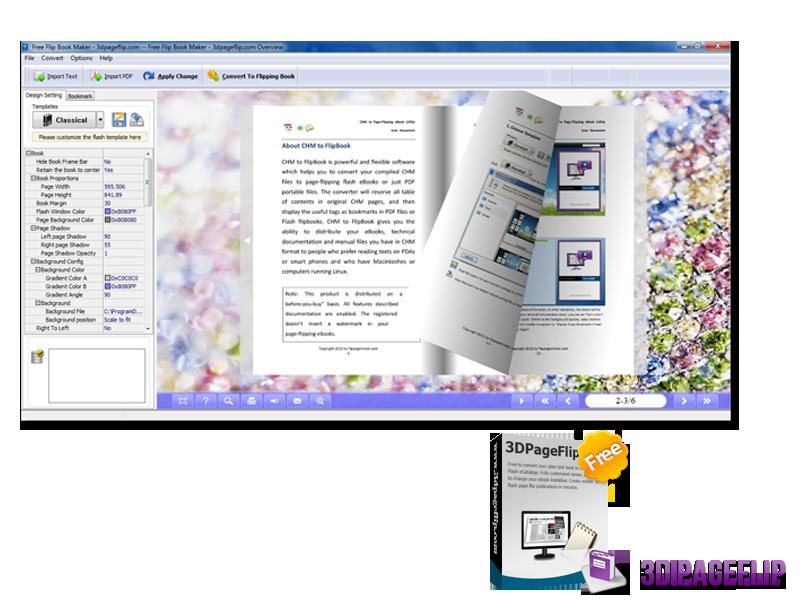 3DPageFlip Free Flip Book Maker 1.0 full