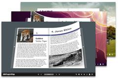 Free 3D Flash Flip Book Creator - Freeware to create page