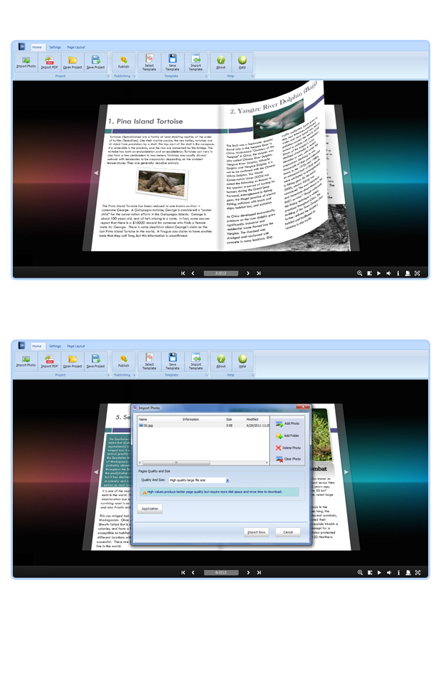 Free Flip Book Maker with Video Effect for Download-3dpageflip com