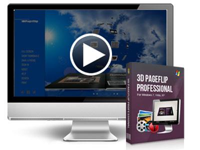 3D Flip Book Maker, cool flipbook software to convert PDF to
