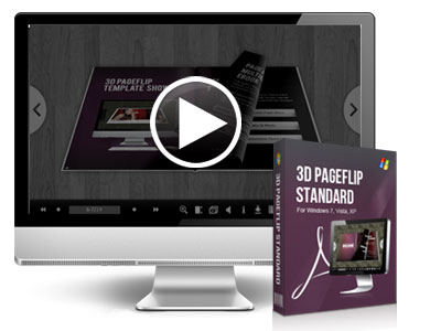 3D Page Flip Software, Convert PDF to 3D Flash Flipping Book!