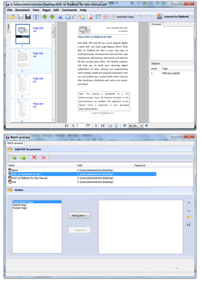 pdf page flip software free download