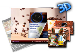 Coffee templates for 3D Page flip book 1.0