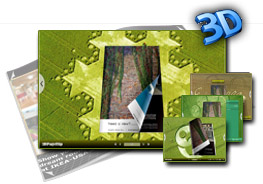 concise templates for 3D flipbook