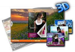 Countryside Templates for 3D Page Flip eBook