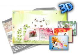3D PageFlip Free Flower Templates 1.0