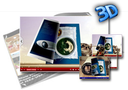 Pretty Cat Templates for 3D Page Flip eBook