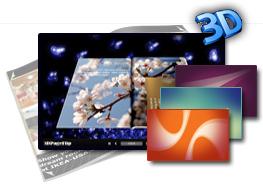 3D PageFlip Free Simple Color Templates 1.0