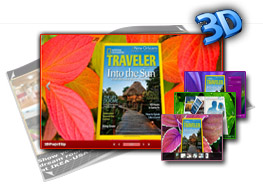 Special Leaves templates for 3D Book 1.0