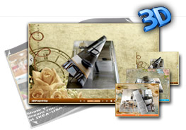 Wallpaper Templates for 3D eBook
