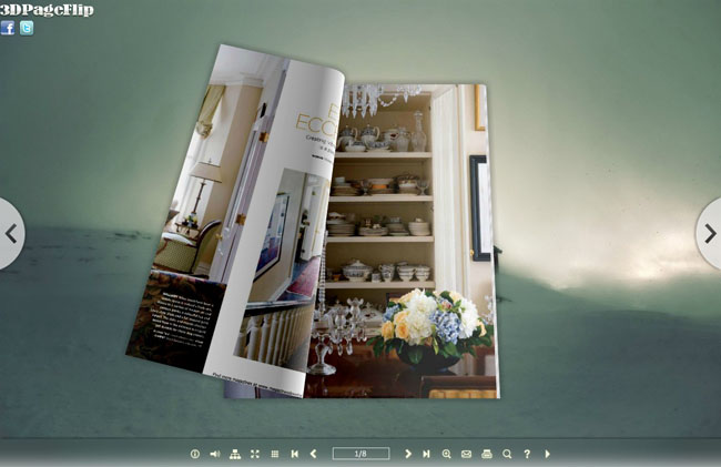 Misty Style Theme for 3D Book 1.0 full