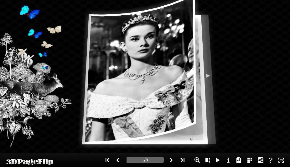 3DPageFlip Flash Catalog Templates for Pretty screen shot